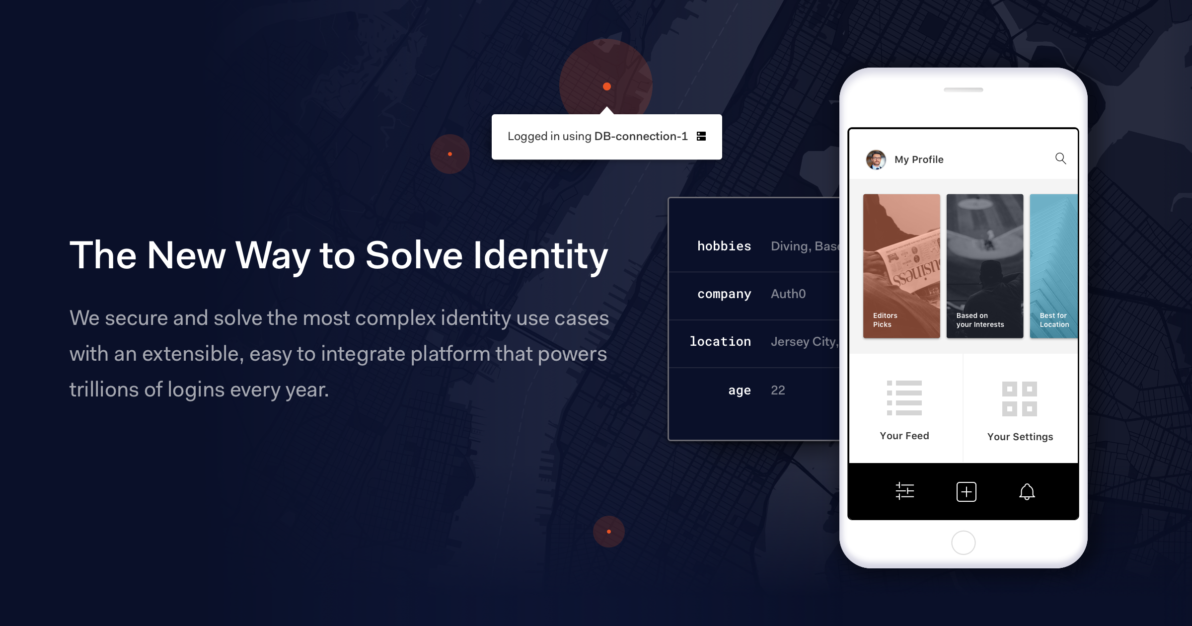 Auth0 The new way to Solve Identity